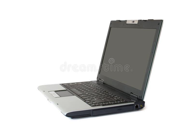 pojedynczy laptopa white zdjęcie royalty free