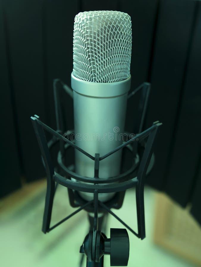 pojedynczy mikrofonu zdjęcia stock