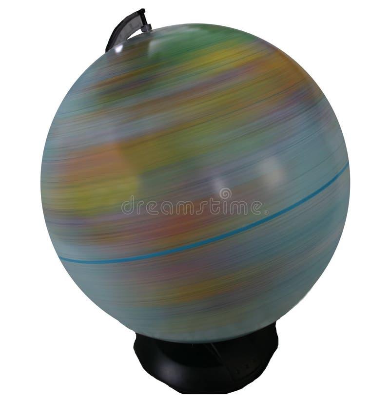 Download Pojedynczy Przędzenie Globu Obraz Stock - Obraz złożonej z kraj, szkoła: 142249