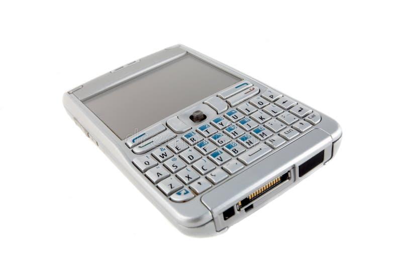 pojedynczy smartphone white zdjęcia royalty free