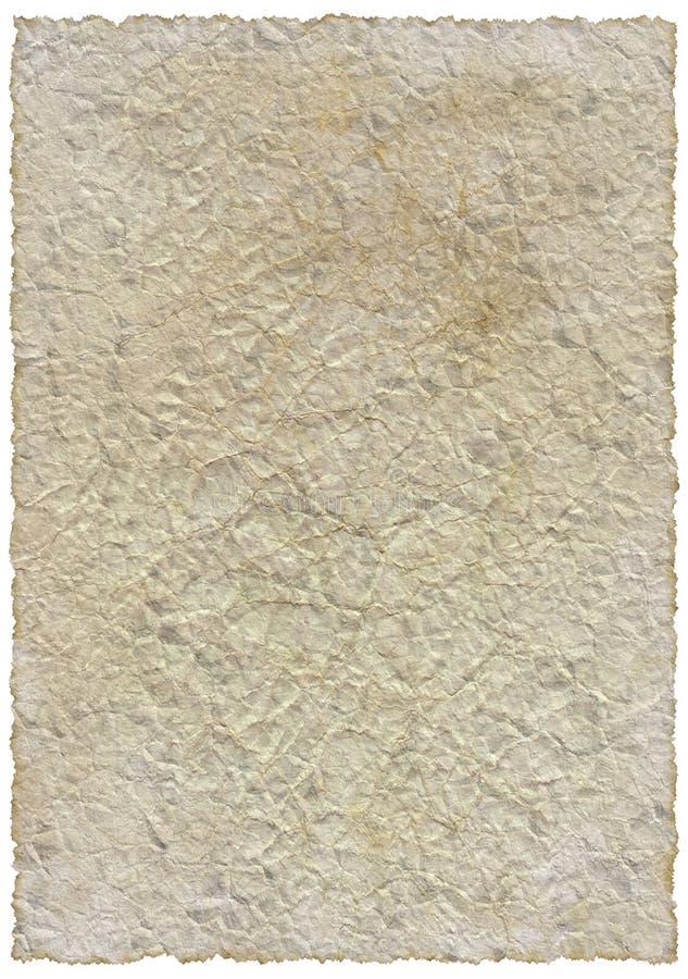 pojedynczy stary rocznik papieru zdjęcie royalty free