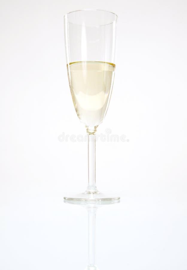 Pojedynczy wina szkło obrazy royalty free