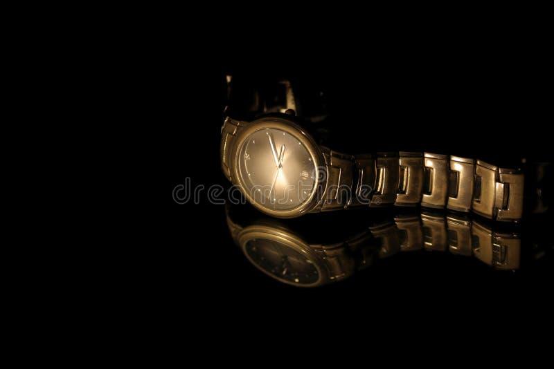 pojedynczy zegarka nadgarstek obraz stock