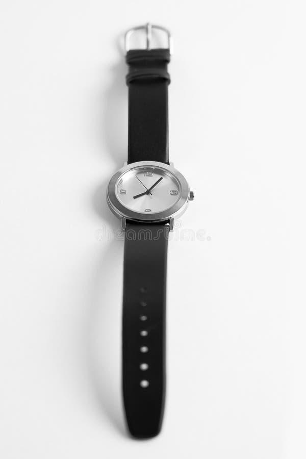 pojedynczy zegarka nadgarstek obrazy stock