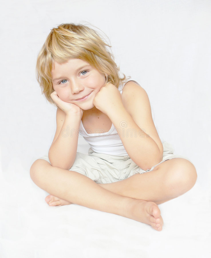 pojke royaltyfri bild