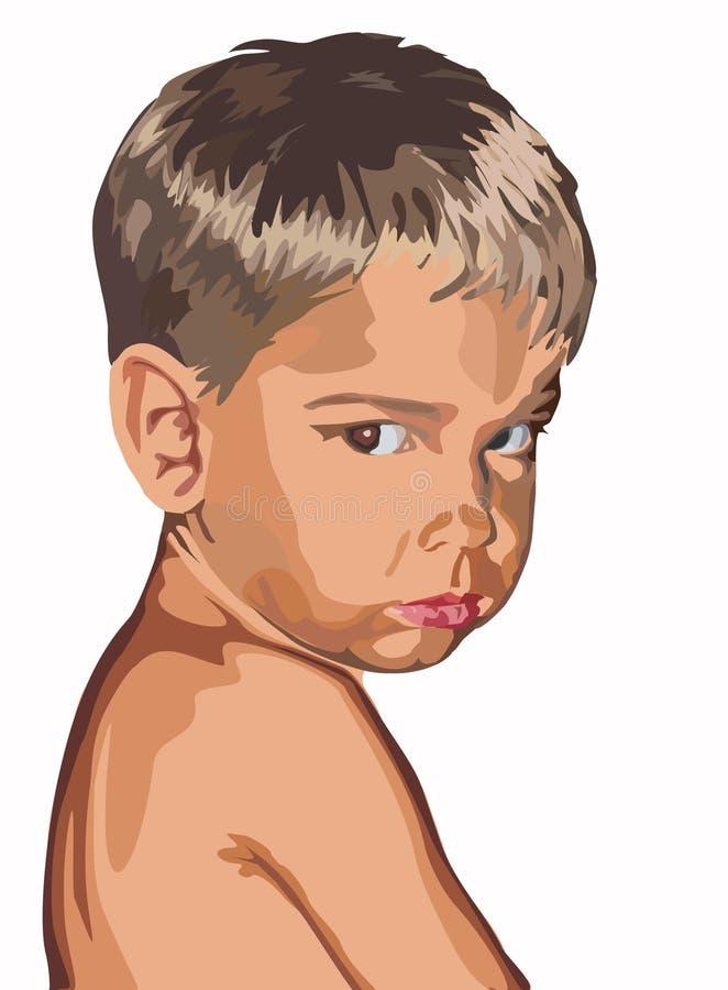 Download Pojke stock illustrationer. Illustration av folk, familj - 513139