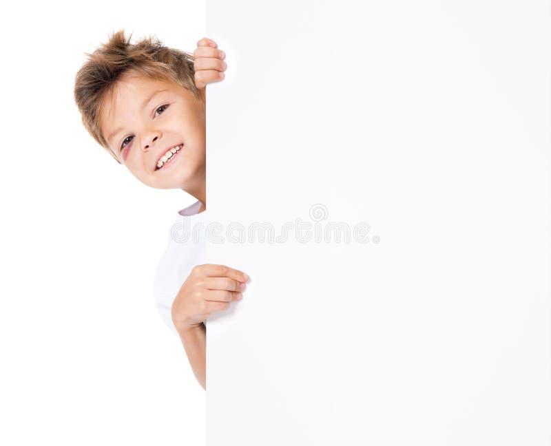 Pojke med blåmärket och mellanrumet fotografering för bildbyråer