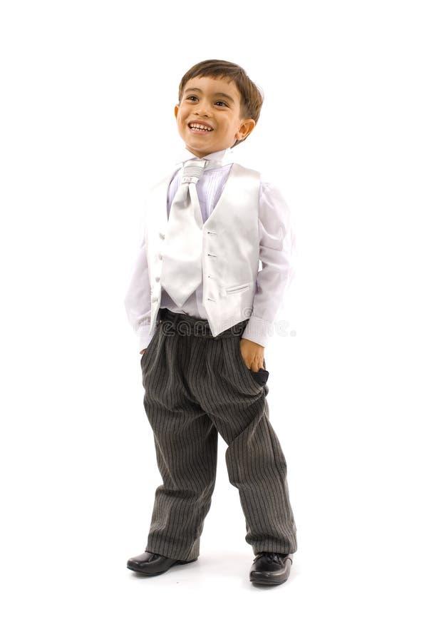pojkeaffär arkivfoto
