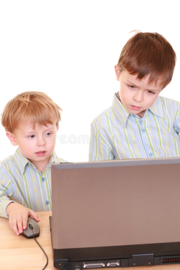 pojkedator arkivbild