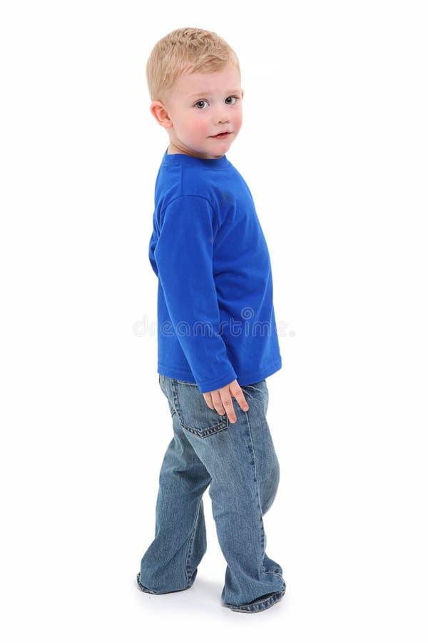 pojkelitet barn royaltyfri fotografi