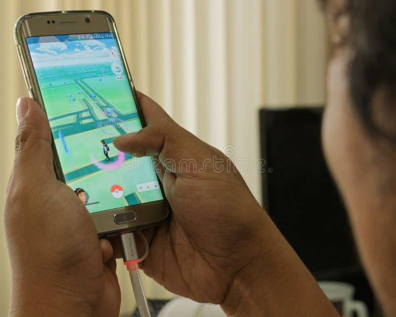 Pokémon va giochi immagine stock libera da diritti