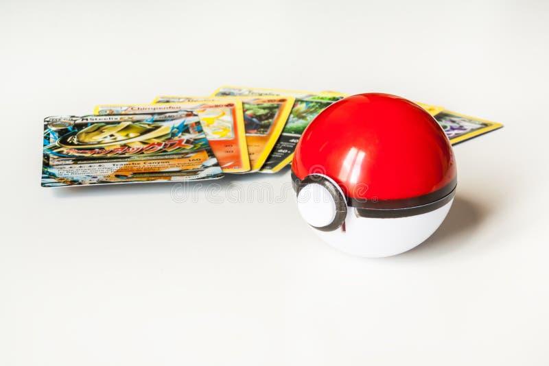 Pokémonspel royalty-vrije stock foto