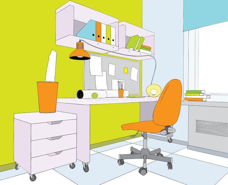 pokój ilustracja wektor