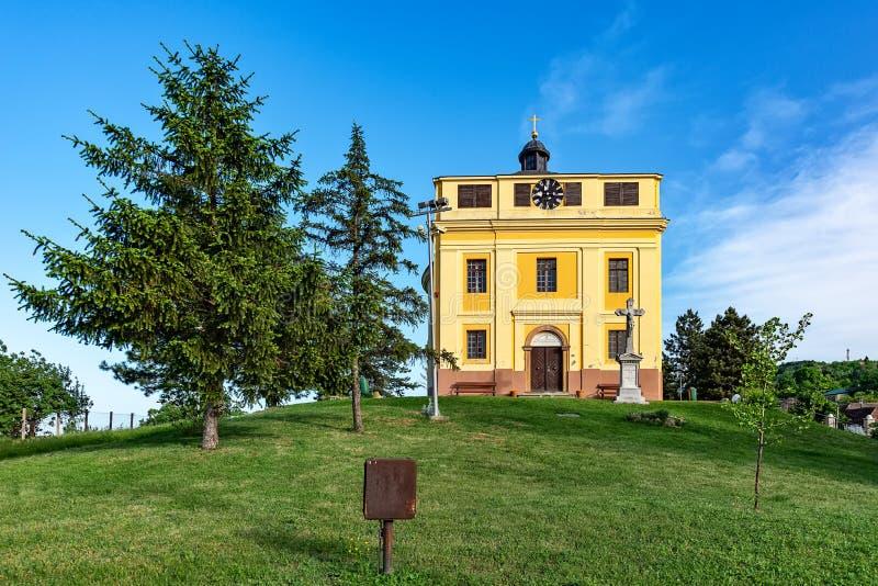 Pokój kaplica dokąd traktat Karlowitz negocjował w Sremski Karlovci To był si zdjęcia stock