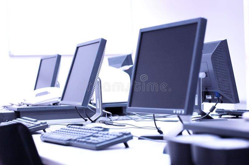 pokój komputerowy zdjęcie royalty free