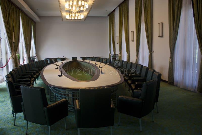 Pokój Konferencyjny ponowne zjednoczenie pałac obrazy stock