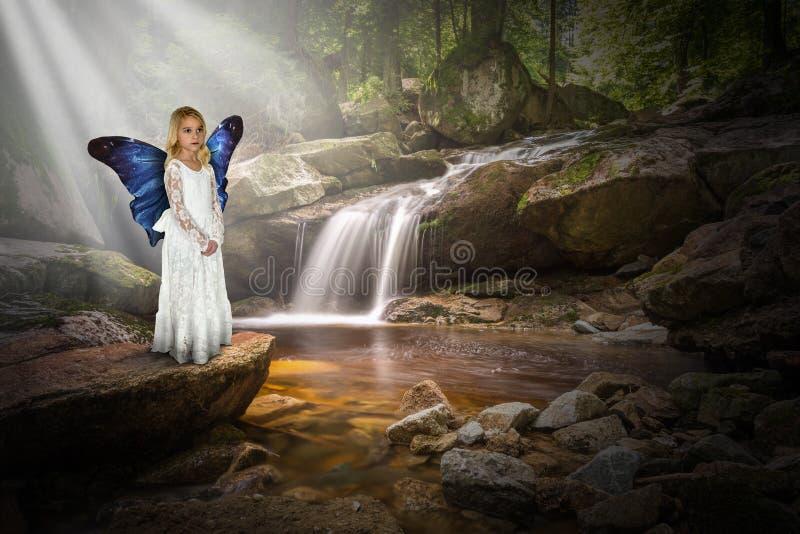 Pokój, nadzieja, miłość, natura, fantazja, wyobraźnia obrazy stock