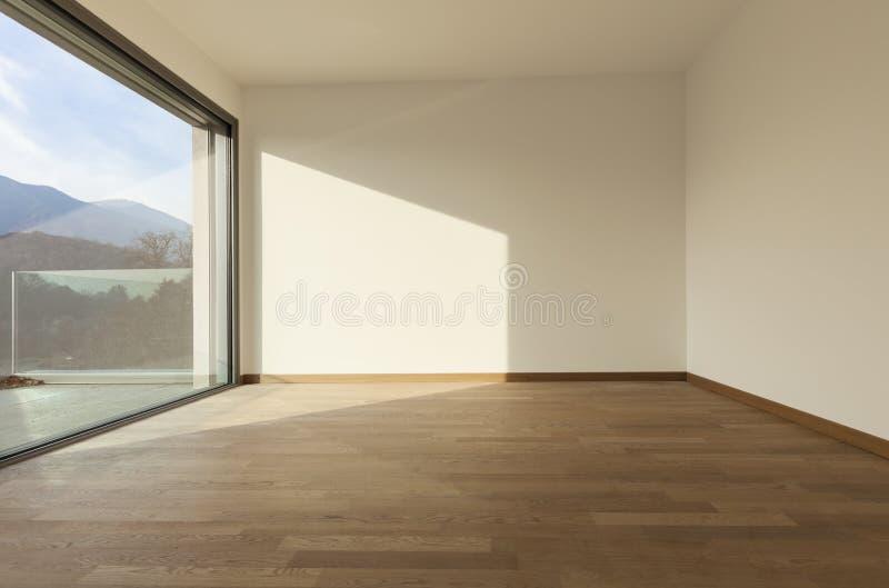 Download Pokój z wielkim okno zdjęcie stock. Obraz złożonej z nowy - 28973270