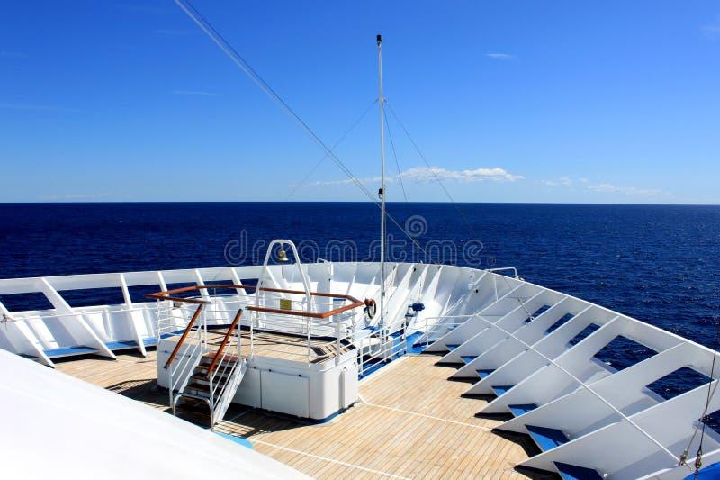 pokładu statek fotografia royalty free