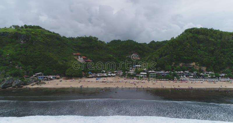 Pok Tunggal från havet arkivbild