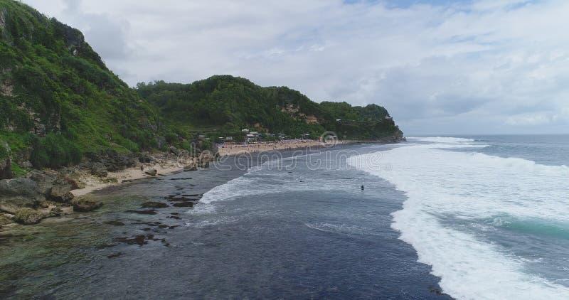 Pok Tunggal vom Meer stockbilder