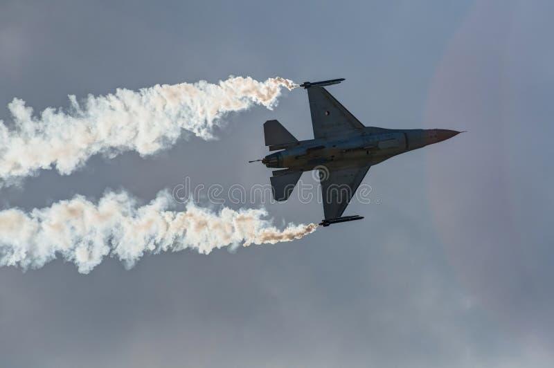 Pokazu lotniczego samolot zdjęcie stock