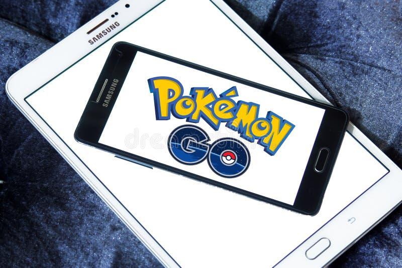 Pokemon gehen stockbild