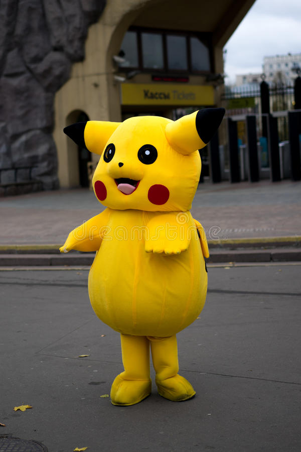 Pokemon Pikachu Halloween foto de archivo libre de regalías