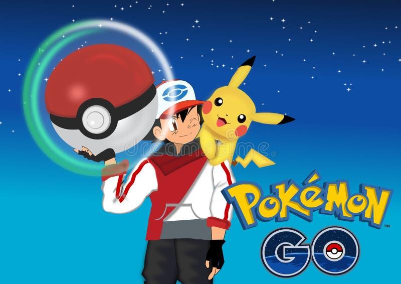 Pokemon va libre illustration