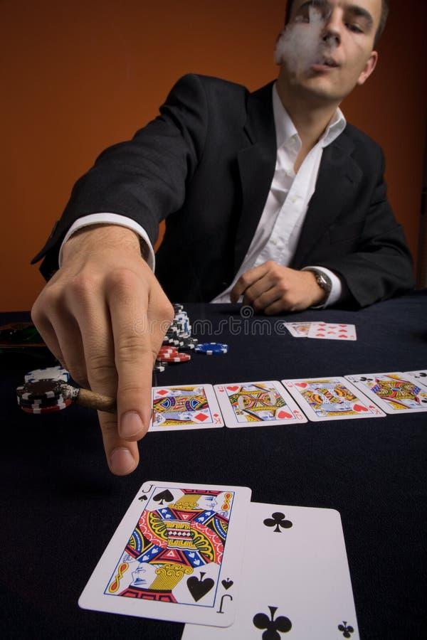Poker 1 royaltyfria foton