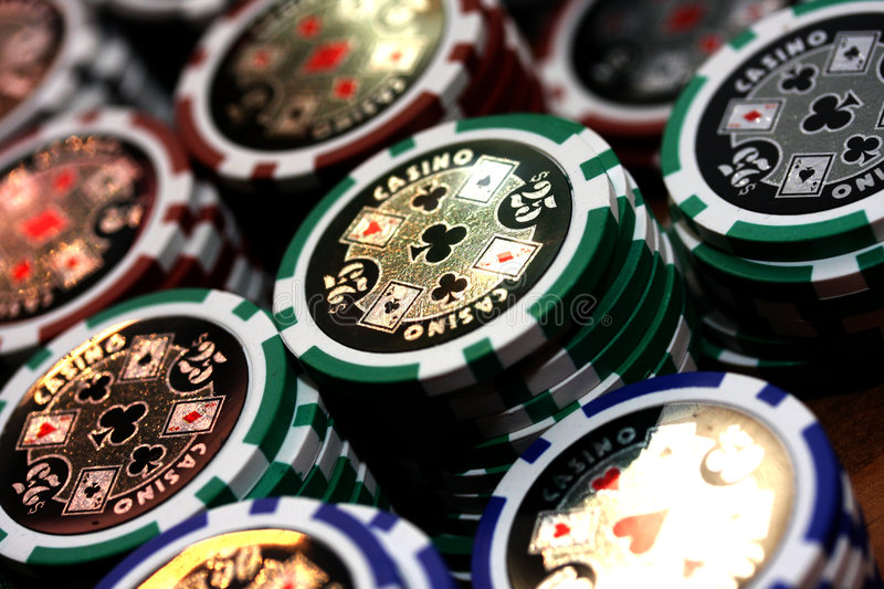 Poker 10 royalty free stock image
