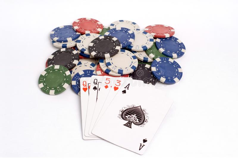 Download Poker stock photo. Image of gamble, hart, games, clubs - 1308746