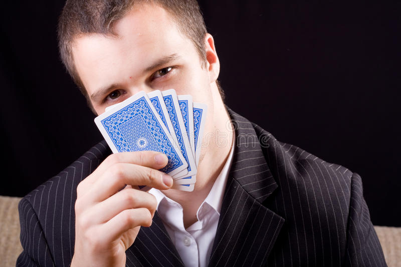 Download Poker stock image. Image of fool, manager, brim, card - 14861859
