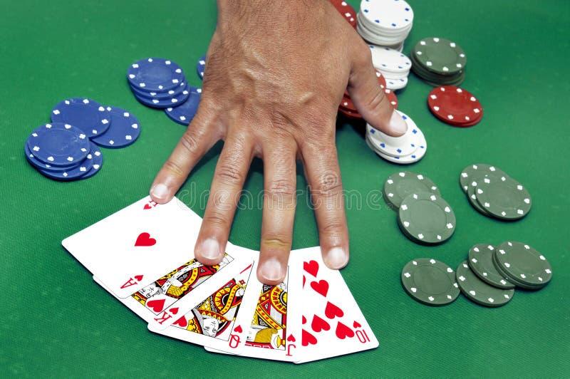 Download Poker fotografering för bildbyråer. Bild av lycka, full - 19776257