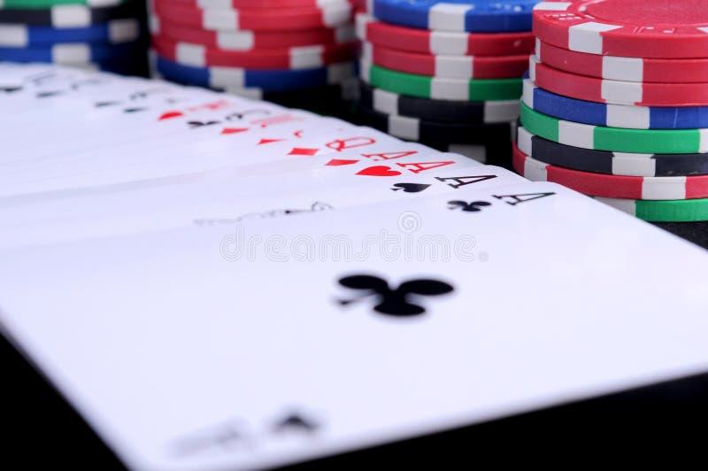 Poker stock photo