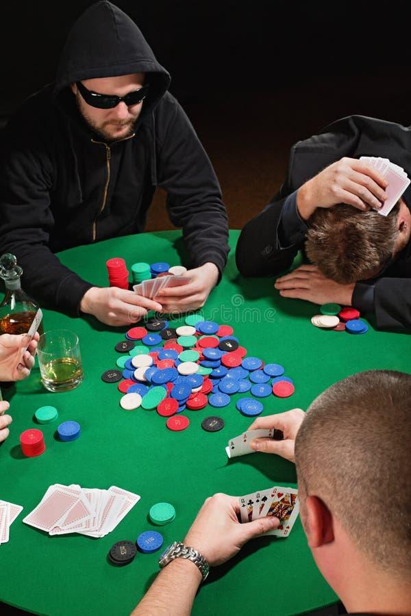 poker royaltyfria foton