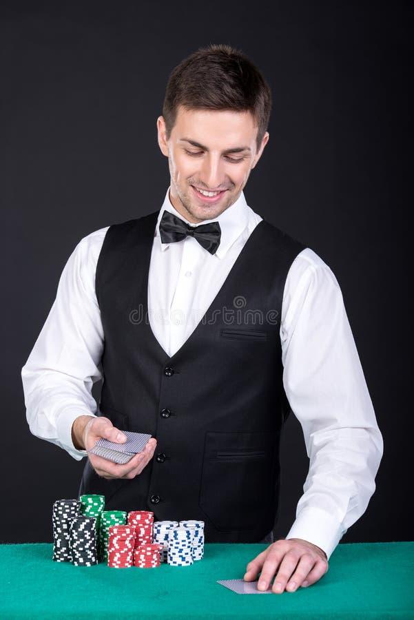 poker royaltyfri fotografi