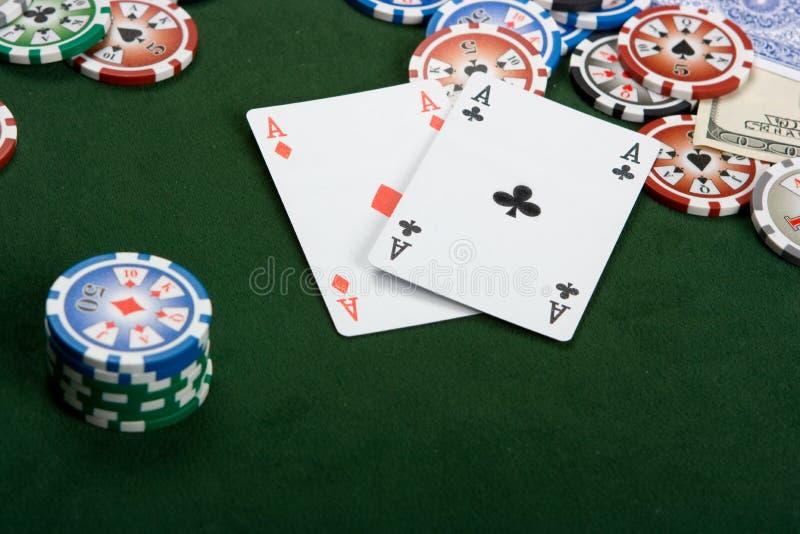 poker στοκ φωτογραφία με δικαίωμα ελεύθερης χρήσης