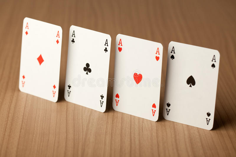 Poker Card Royalty Free Stock Images