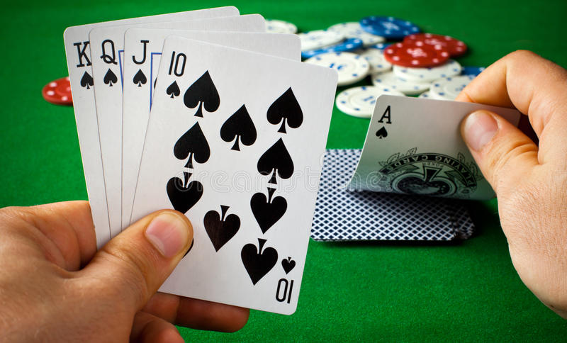 Download Poker cards stock image. Image of entertainment, success - 28669539