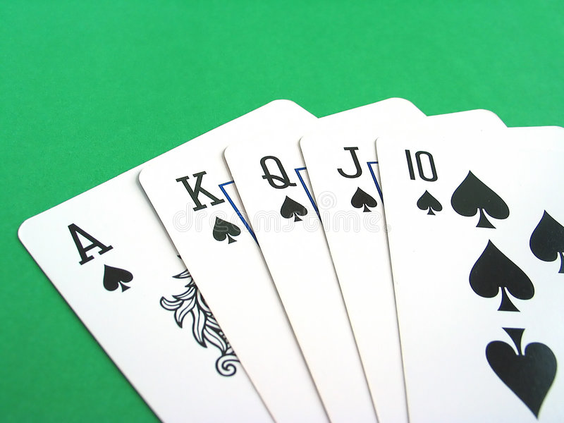 Download Poker Cards stock photo. Image of straight, poker, green - 93224