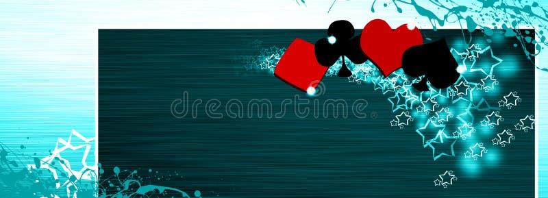 Download Poker and casino stock illustration. Image of allin, gambling - 26123647