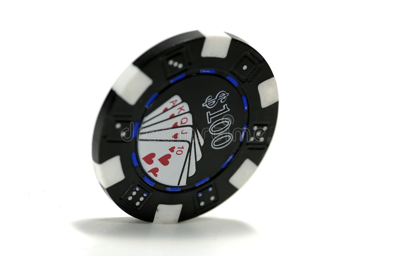 Poker Chip royalty free stock photo