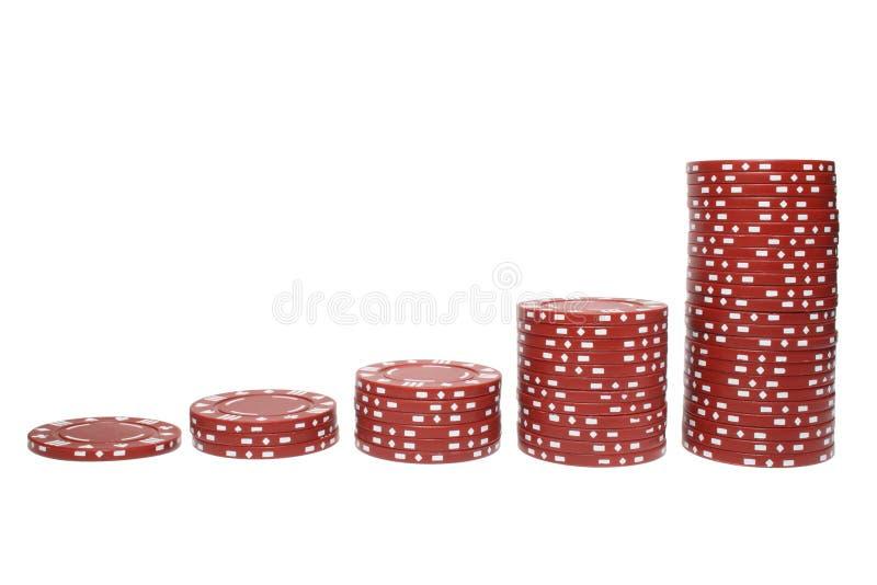 Download Poker Chip Stacks Stock Image - Image: 2125551