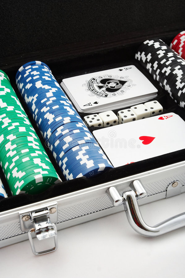 Free Poker Chips Stock Photography - 1397552