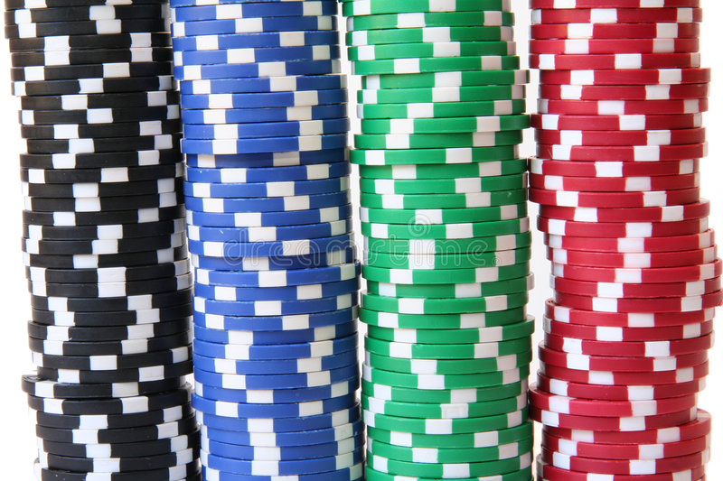 Download Poker Chips Stock Photos - Image: 1413193