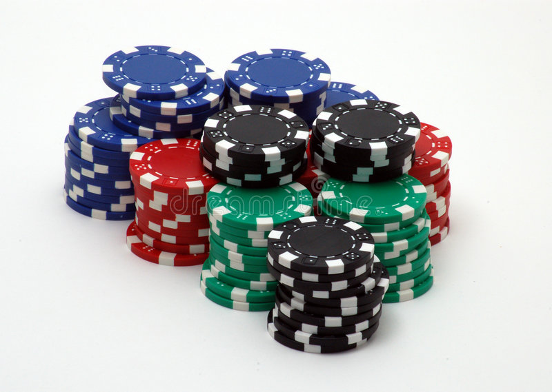 Download Poker Chips stock image. Image of casino, vegas, raise - 1419317