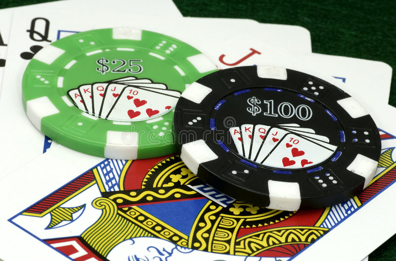 Download Poker Chips stock image. Image of entertainment, vegas - 541533