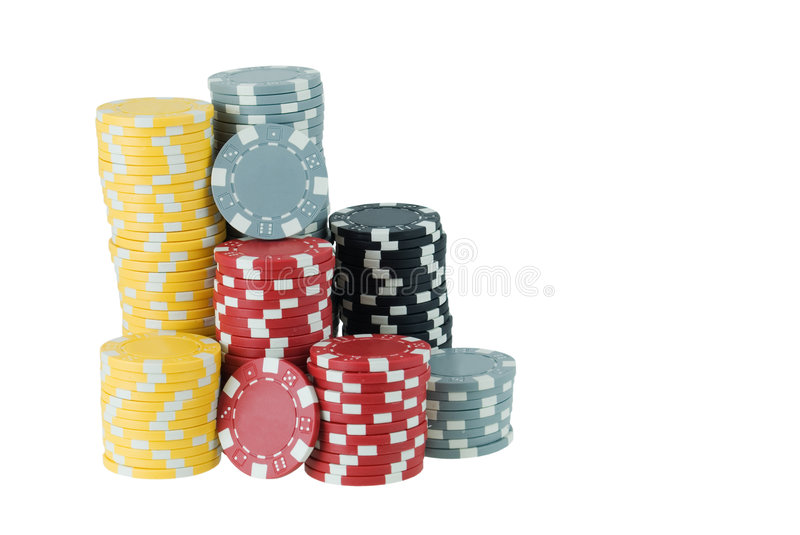 Download Poker Chips stock photo. Image of game, white, risk, casino - 6544900