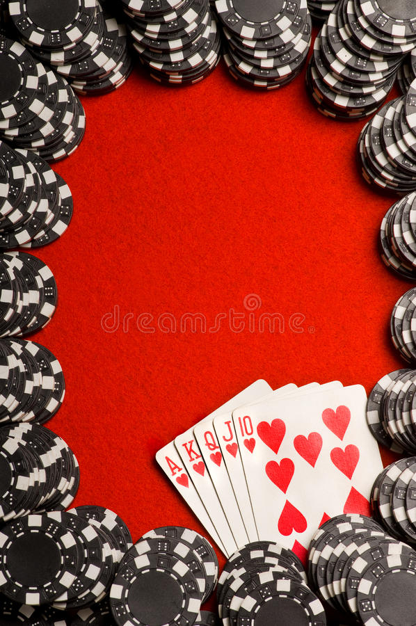Free Poker Chips And Cards Stock Images - 12003744
